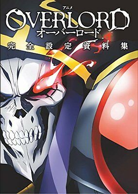 Anime OVERLORD Perfect Setting Book - Illustration Art