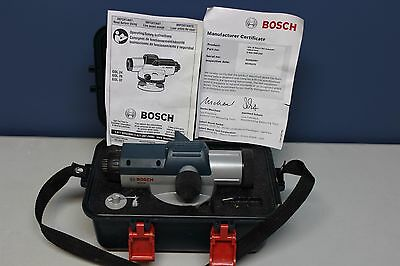 Bosch GOL26 Automatic Optical Level with Case