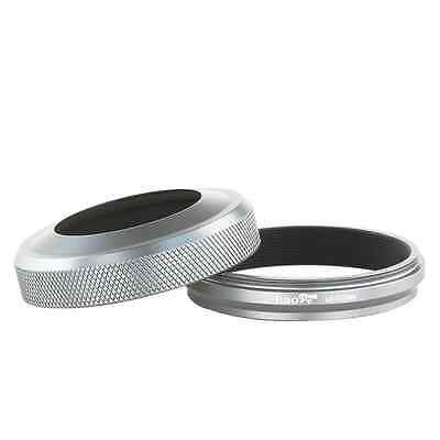 Haoge LH-X100W 2in1 All Metal Lens Hood with Adapter Ring Set for Fuji Fujifilm