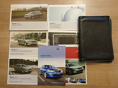 Skoda Octavia Owners Handbook/Manual and Pack 09-12