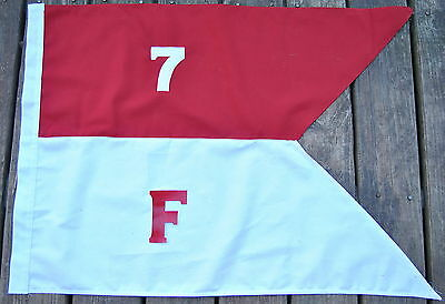 Cotton 7th Cavalry F Troop Guidon Flag     Made in USA