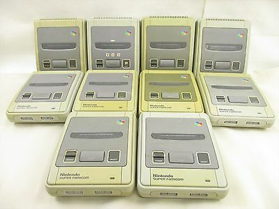 WHOLESALE Super Famicom Lot of 10 Console Working tested FREE Shipping 12200