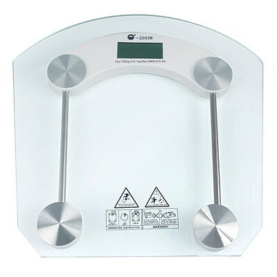 150kg Toughened glass Electronic Digital Bathroom Body Scale Weight Control