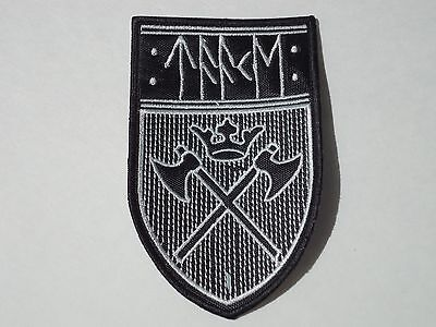 Taake Black Metal Embroidered Patch
