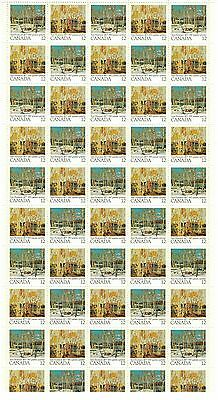 Canada Stamp #733-734 Field Stock Sheet 50 stamps MNH Thompson
