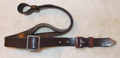 German WWII KKW Klein Kaliber Waffen Sling 98k Mauser GeCo Walther Old Leather