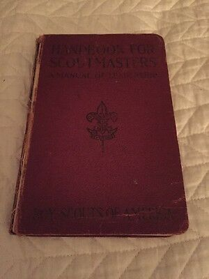 1926 Handbook For Scoutmasters BSA Second Edition Tenth Printing
