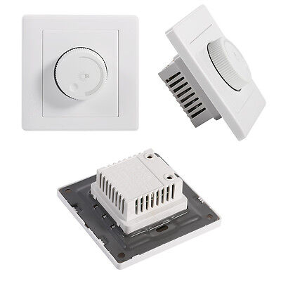 Light Dimmer Control Wall Rotary Lamps LED Light Switch Brightness Controller WY