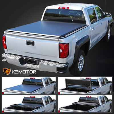 02-08 Dodge Ram 1500 03-08 Ram 2500/3500 6.4ft Bed Tri-Fold Tonneau Cover
