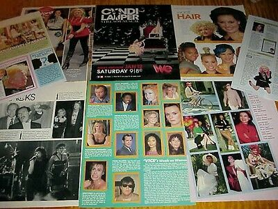 CYNDI LAUPER vintage clippings - So Unusual then & now #071214
