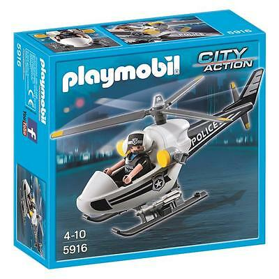 Playmobil - Police Copter - 5916