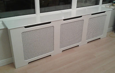 Radiator Cover Painted wooden MDF 2000mm x 630mm
