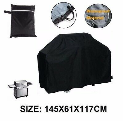 BBQ Cover Heavy Duty Dust Waterproof Rain Snow Barbeque Grill Protector UK Stock