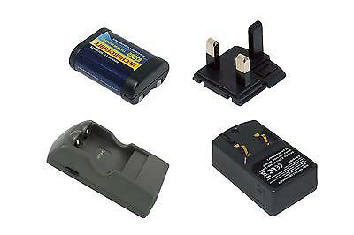 Battery+Charger for CANON 2CR5, EOS 3, EOS 5