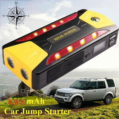 Car Jump Starter 82800MAH Portable Booster Charger Battery Power Bank 12V SOS UK