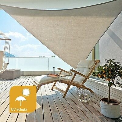 sonnensegel gartenbauten sonnenschutz garten terrasse picclick de. Black Bedroom Furniture Sets. Home Design Ideas
