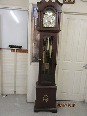 Modern Westminster Chime Weight Driven Longcase/Grandfather Clock  Working Order