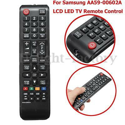 TV Remote Control For Samsung AA59-00602A LCD LED HDTV TV Direct Replacement