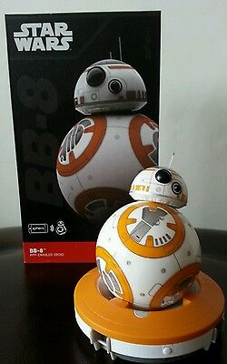 Star Wars Force Awakens BB8 Spero App operated Mini robot automatic toy