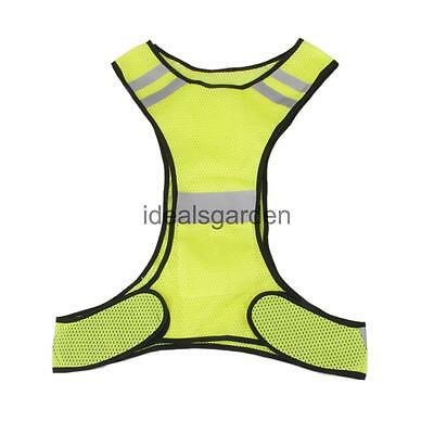 High Viz Reflective Safety Vest for Running Jogging Cycling Walking Outdoor
