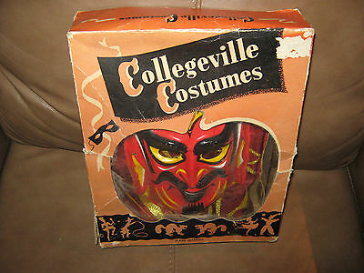 Collegeville Costumes Devil Costume Mask and costume in Box