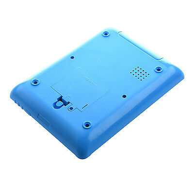English Computer Learning Education Machine Tablet Pad Kids Toy Blue 05Q4