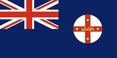 NEW SOUTH WALES FLAG 5' x 3' Australia Australian State Oceania Flags