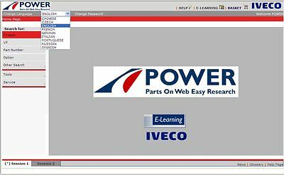 Iveco Power Bus 06 2017 Epc Electronic Parts Catalogue Catalogo Ricambi