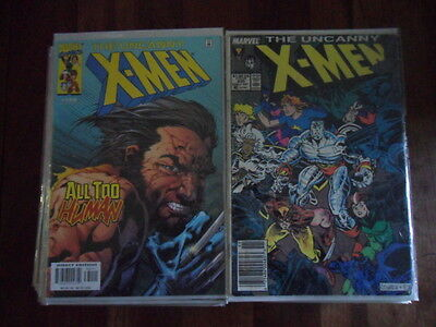 The Uncanny X-Men 37 Book Lot  #235 - #400