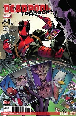 Deadpool: Too Soon? #1-4 [2017] - COMPLETE MINI-RUN - DIGITAL CODES ONLY