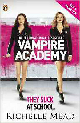 Vampire Academy Official Movie Tie-In Edition (book 1), New, Mead, Richelle Book
