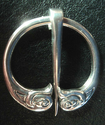 Vintage Silver Zoomorphic Scottish Iona AR Brooch - Alexander Ritchie 1934/1937