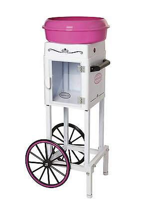Nostalgia Electrics Hard and Sugar-Free Cotton Candy Cart