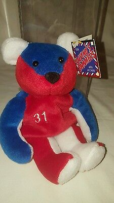 Mike Piazza #31 Salvino's Bammers 4Th Of July- Red White & Blue Plush Bear W/Tag