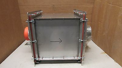 """No Name Stainless S/s 12""""x12""""x12"""" In Line Hepa Filter Process Dryer Enclosure"""