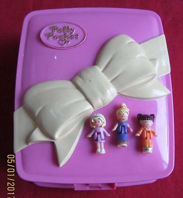 Vintage Polly Pocket 1994 Star Bright Dinner Party 100% Complete & Lights Up EUC