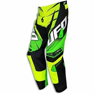 "Pantaloni cross | enduro UFO PLAST ""VOLTAGE"" giallo fluo ""54"""