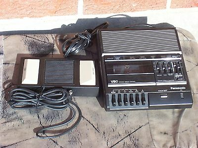 Panasonic VSC RR-830 Standard Cassette Transcriber With Foot Control