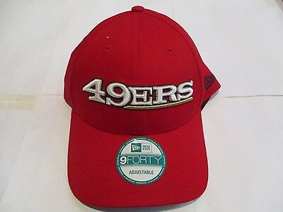 San Francisco 49Ers 9Forty Cap By New Era Size Adults Adjustable Brand New
