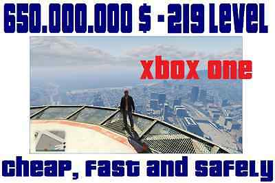 Time and work devoted to Acquiring 650.000.000$ GTA V Xbox One Cash Money Geld