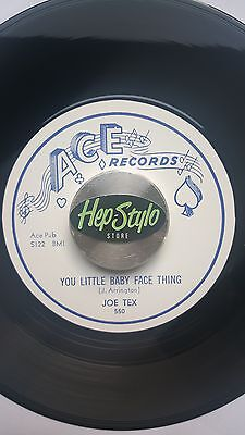 Joe Tex/little Booker Re 45 -You Little Baby Face Thing/open The Door - Top Ace