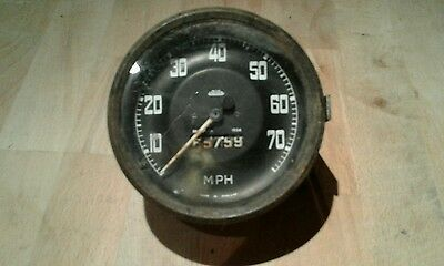 Land rover series  2 and early 2a jaeger speedometer