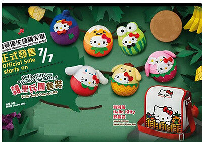 2016 HK McDonald's Hello Kitty Sanrio Characters Fruits Troop Collector' Kit