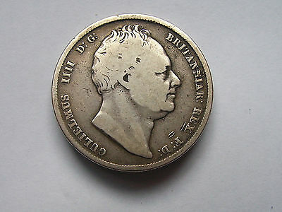 William 1V  Half Crown Dated 1836 Good Grade