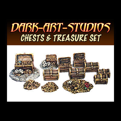 Dungeon Scenery by Dark-Art Studios - resin cast, 28/32mm scale