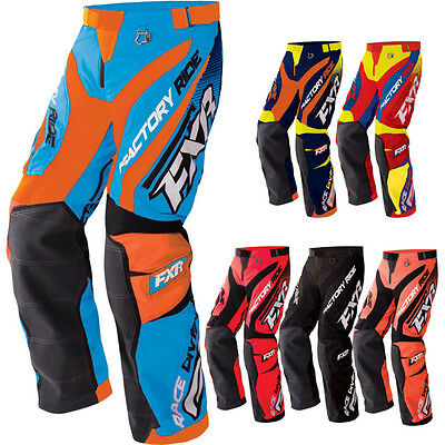 FXR Cold Cross Race Ready Mens Sled Skiing Snowboarding Snowmobile Pant