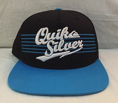 Quiksilver Baseball Cap Hat The Classics Snapback Black Blue Green