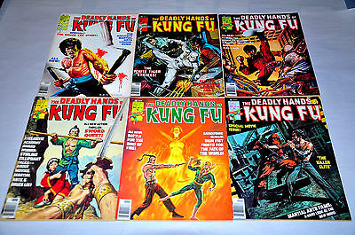 Deadly Hands Of Kung Fu 23 24 25 26 27 28 Bruce Lee Iron Fist Capital Collection