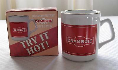DRAMBUIE Red/White Coffee Mug/Cup - BRAND NEW - Try It Hot!