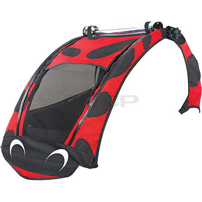 Burley Child Bicycle Trailer Ladybug Cover for 2007-2009 D'lite and Encore